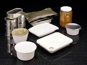 Assortment of Retortable Pouches and Other Containers